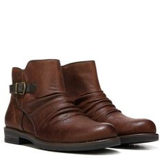 e5154dbdbd6 Brown Ankle Boots, Ankle Booties, Boot Cuffs, Block Heels, Footwear, Leather