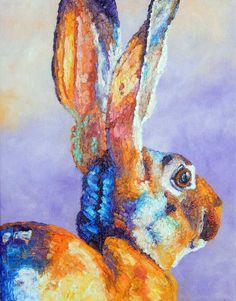 Sandra Spencer Rabbit Art, Bunny Rabbit, Bunny Art, Hare, Rabbits, Tortoise, Bunnies, Artwork, Painting