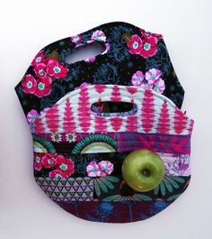 Insulated Lunch Sack Tutorial & Pdf pattern | Sew Mama Sew |