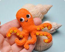 felt octopus