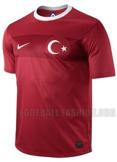 Turkey Nike 2012/13 Home Kit