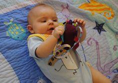 Crazy (easy) baby toy tutorial