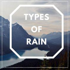 of 💧 - it is dizzling; 💧 💧 - it's raining; 💧 💧 💧 - it's pouring; 💧 💧 💧 💧 - it's lashing down; 💧 💧 💧 💧 - it's bucketing down (informal); English Study, Learn English, English Articles, Language School, It's Raining, New Words, Study Abroad, Grammar, Ireland