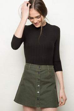 Brandy ♥ Melville | Nanna Skirt - Skirts - Bottoms - Clothing