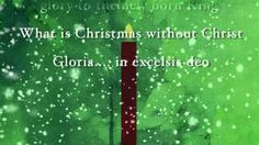 This Is Christmas - Kutless, via YouTube.  What is Christmas without Christ!!!!