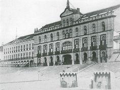 Blankenberge old picture – eerste kursaal later 'Bristol'