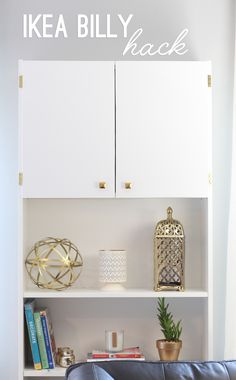 IKEA BILLY Hack: Hiding an Air Conditioner Wall Unit with a Bookcase