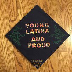 11 Latino-Themed Cap Designs For Your Graduation Inspo   We are mitú