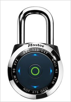A Padlock With A Digital UI: Surprisingly Useful | Co.Design: business + innovation + design