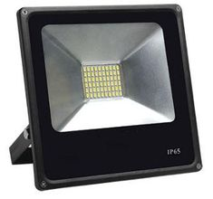 PIR Sensor LED Energy Saving Flood Light Outdoor Security 10-50W Slimline Lamp