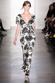 Fall 2012 RTW, Designer: Suno, Model: Iris Egbers