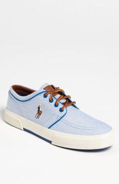 new york 4323a fecbc Polo Ralph Lauren Faxon Sneaker (Men) available at  Nordstrom Tenis, Polos,