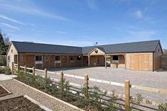 Scotts is one of the country's leading manufacturer and supplier of desirable equestrian timber stables, with an unrivalled reputation for over 50 years. Equestrian Stables, Horse Stables, Horse Barns, Horses, Dream Stables, Dream Barn, Horse Barn Designs, Horse Shelter, Horse Barn Plans