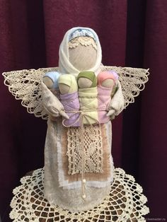 Photo from album Fabric Dolls, Paper Dolls, Art Dolls, Christmas Angels, Christmas Gifts, Diy Origami, Christmas Sewing, Waldorf Dolls, Photo Craft
