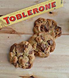 YUMMY Toblerone Cookies! My fav!