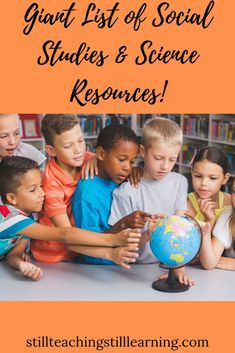 Giant list of Social Studies & Science resources!