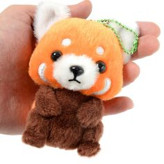 **Buy the 4-Plushie Set now to receive a special, limited bonus: an incredibly cute, high-quality Rainbow Alpacasso Pin! This pin is available only while supplies last and isn't sold separately!**  Now you can keep the adorable cast of the **Baby Lesser Panda-chan** line with you everywhere you go with these precious **plushie ball chains!**  The lineup includes **Lesser-kun, *Kuchi Ake*** (meaning open-mouthed) **Lesser-kun, Pinky-chan,** and **Dosakusa Tanuki-kun,** and you can also…