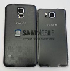 Achterzijde Samsung Galaxy S5 vs Samsung Galaxy Alpha