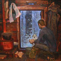 """В.Ф. Самарин, """"Напарник"""", 1979г"""