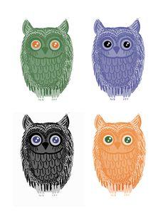 'Owls' by Karachuu