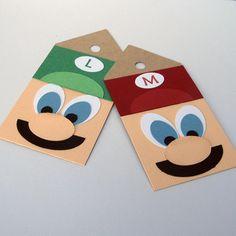 Mario Birthday Party Invitations - Set of 8 - Super Mario Party Supplies. $29.95, via Etsy.