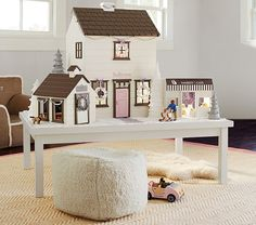 Westport Dollhouse White | Pottery Barn Kids