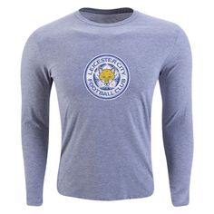 Leicester City FC Aged Crest Long Sleeve T-Shirt