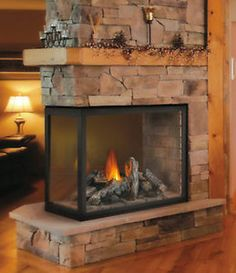 Fireplace Update Ideas On Pinterest 3 Sided Fireplace Napoleon And Gas Fireplaces