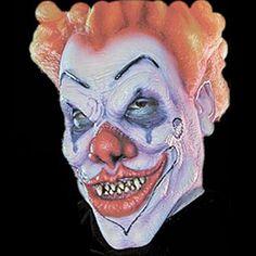 Woochie Pro FX Foam Latex Mask: Evil Clown