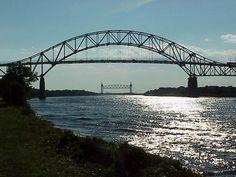 canal bridges Sydney Harbour Bridge, Cape Cod, Plymouth, Massachusetts, Places Ive Been, Spaces, Bridges, World