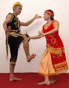 Kanjar dance, East Kalimantan