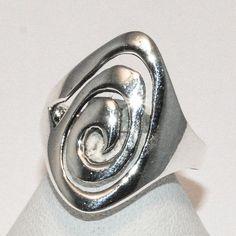 2-5049-e2 Twirl Design Ring