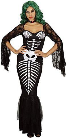 1fa833c961a U LOOK UGLY TODAY Womens Halloween Costume Skeleton Merma...  Halloween   halloweendecorations  halloweendecor