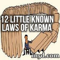 To stop being afraid and to start being empowered in the worlds of karma and reincarnation, here is what you need to know about karmic laws.