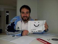 Y claro, Javier Fernández también regala la suya...