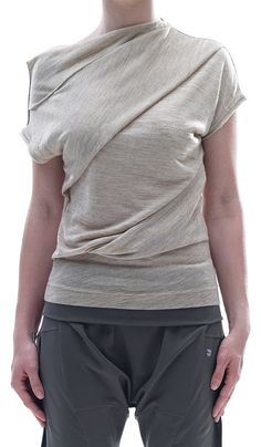 stylish top. might not be the best top to practice yoga in but definitely has the style