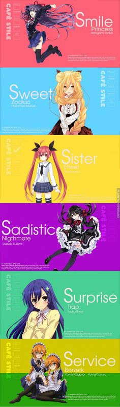 Blend S and date a live crossover,not bad ( ̄▽ ̄) Date A Live, M Anime, Chica Anime Manga, Manga Girl, Anime Character Names, Anime Characters, Kawaii Anime Girl, Anime Art Girl, One Punch Anime
