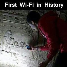 First Wi-Fi in history