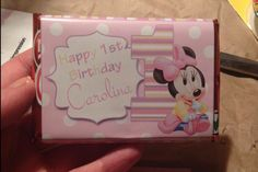 Minnie Mouse kitkat wrapper dimadesignz