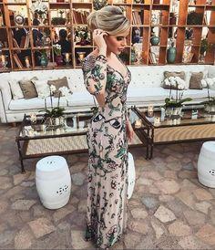 vestido de festa bordado casamento dia