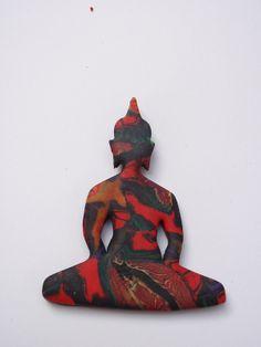 polymer clay buddha pendant Polymer Clay Creations, Buddha, Pendants, Hang Tags, Pendant, Charms