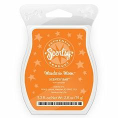 """Scentsy Limited Edition Seasonal """"Mandarin Moon"""" Wax Bar 8 Squares 3.2fl Oz by scentsy. $2.99. Scent of the month for October"""