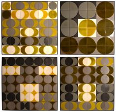 MID-CENTURIA : Art, Design and Decor from the Mid-Century and beyond: Roger Capron Wall Panels +