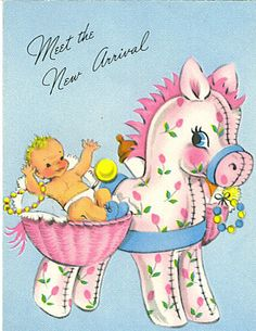 Baby card (Larry McClain) by Tommer G, via Flickr