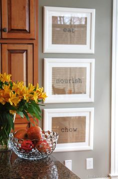 Framed Placemats {brilliant} framing favorite childhood placemats is another way to use this