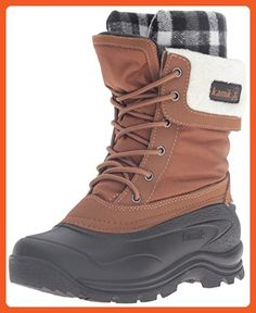 Kamik Women's Sugarloaf Snow Boot, Tan, 9 M US - Boots for women (*Amazon Partner-Link)