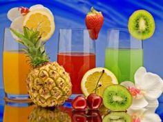 Soki owocowe przynoszą ukojenie i poprawiają samopoczucie.