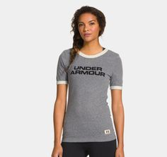 Women's Under Armour® Legacy Graphic Ringer T-Shirt