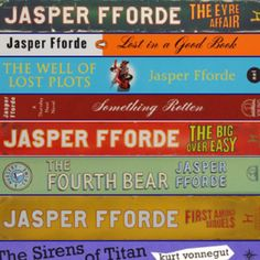 #15 (I know, it's a series) Feminist Must-Read Book List. The Thursday Next series by Jasper Fforde. Fiction, comedy, strong female character