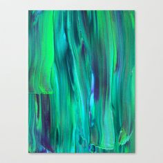Abstract Painting 29 Stretched Canvas by Kimsey Price - $85.00